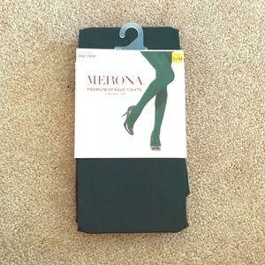 Merona Premium Opaque Tights - NWT